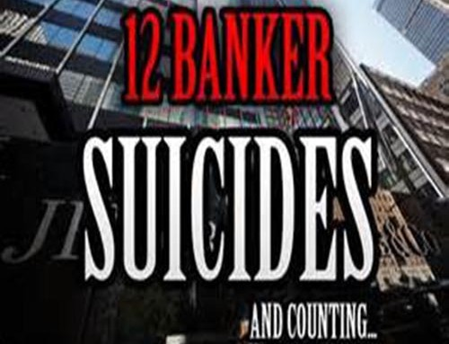 Conspiracy admitted on Mass Banker ''Suicides'' by Jay Syrmopoulos