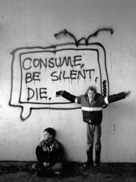 (90) CONSUME-BE QUIET-DIE