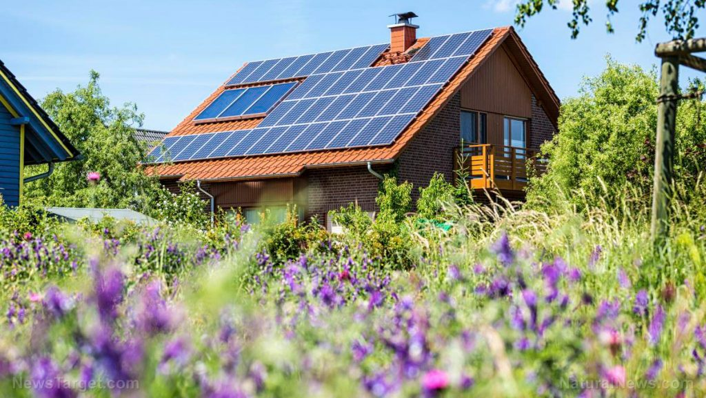 Solar-Panels-Rooftop-Cottage-House