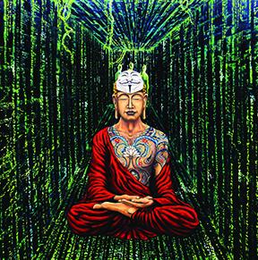 Buddha in matrix.S