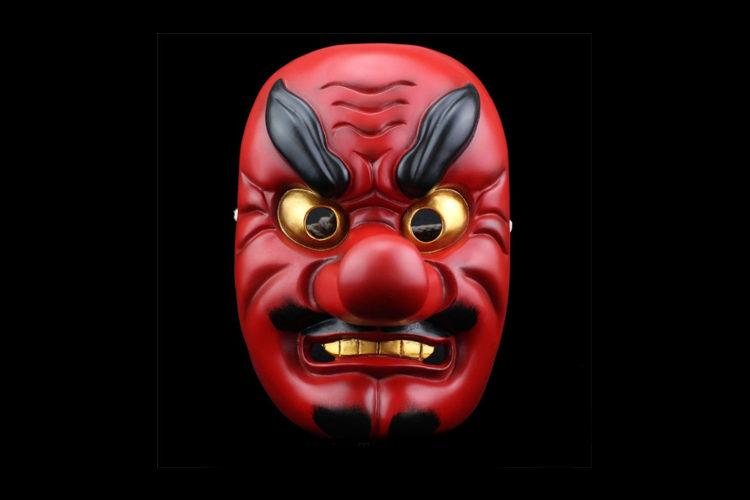 Angry-Samurai-Mask